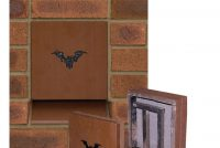 Bat box with engraved logo