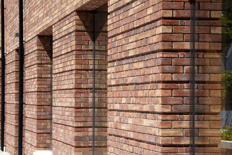 Brown multi handmade stock facing brick