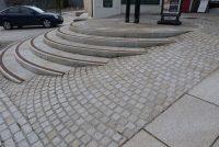 Granite paving sets