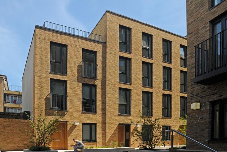 London yellow stock brick