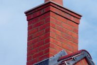 Pre fabricated red multi wirecut chimney