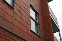Red Terracotta Rainscreen Cladding